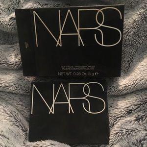 NARS soft velvet pressed powder